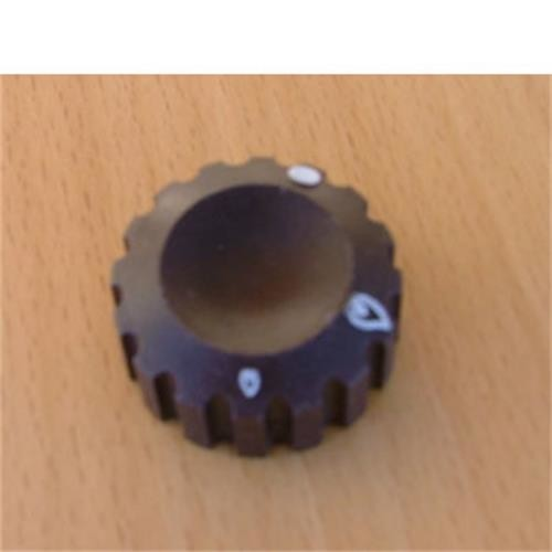 Control knob, brown for Cramer Hob image 1