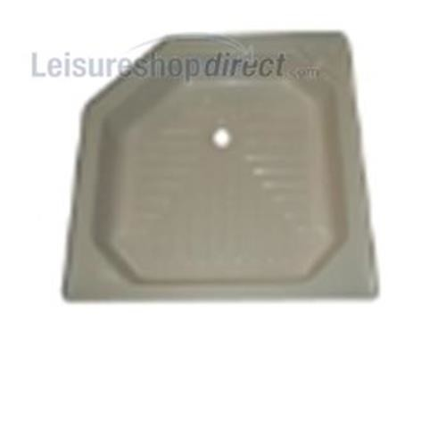 Shower Tray - White image 1