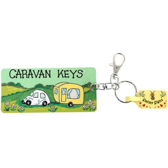 Caravan Keys Keyring by smiley signs image 1