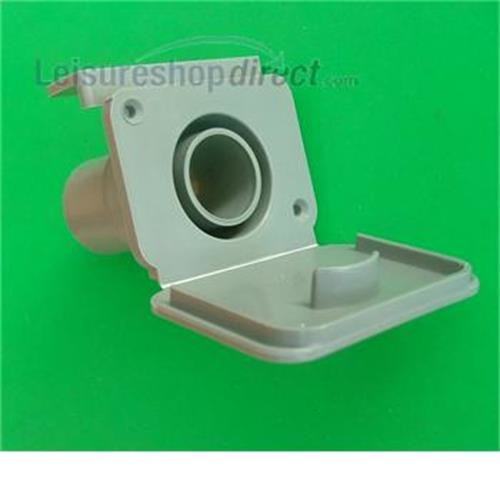 Caravan 28mm waste outlet fitting image 1