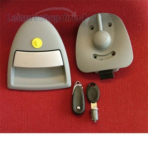 Hartal door lock LH for Bailey Caravan image 1