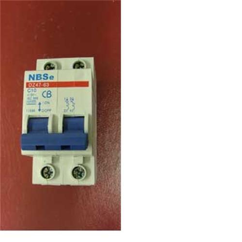 MCB 10amp double pole C10 image 1