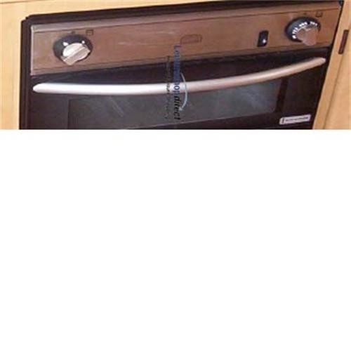 Bow Handle Oven Door Spinflo Cookers - Black image 1