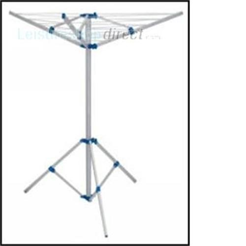 Fold Down Rotary Airer with Tri-pod and Carry Bag image 2