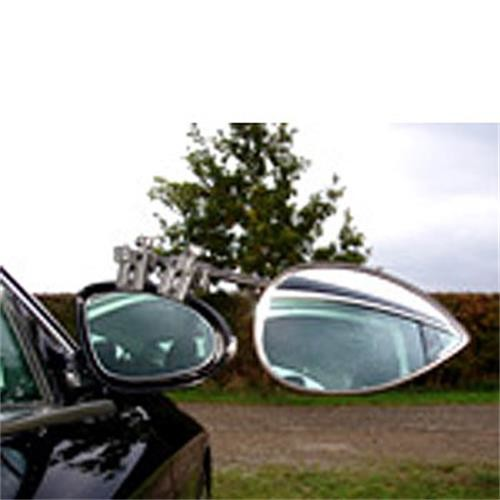 Milenco Aero 3 Convex Caravan Towing Mirror image 1