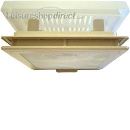 MPK Rooflight 420 with Flynet & Blind - Beige (Complete) image 3