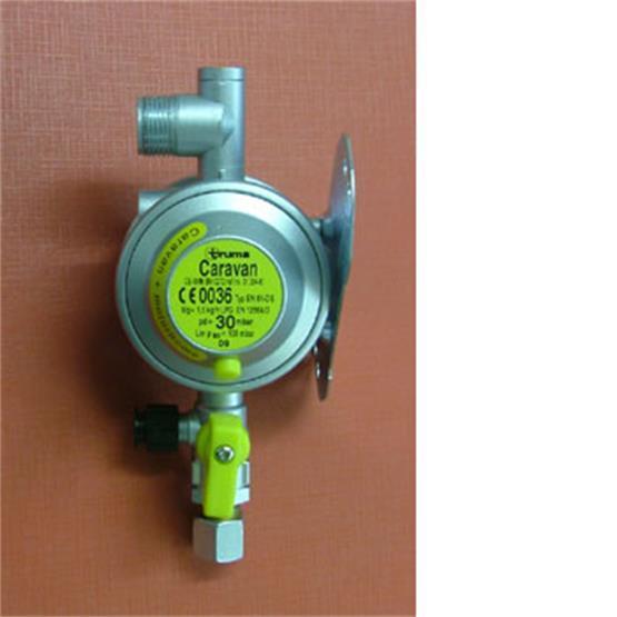 Truma gas regulator, 30 mbar, 10mm outlet image 2