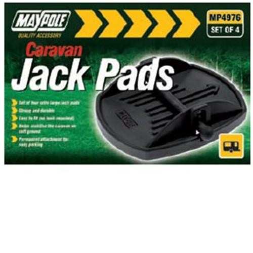 Maypole jack pads, pack 4 ( corner steady feet ) image 1