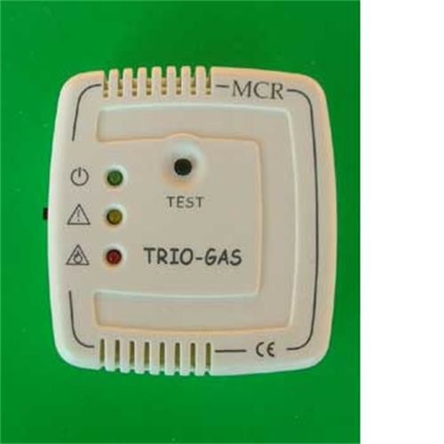 Trio gas alarm - colour ivory image 1