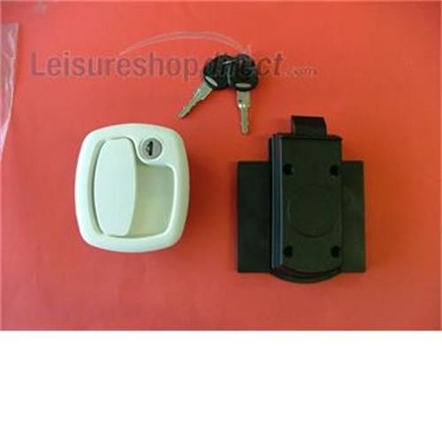 FAP Locker/Garage Door Lock - white image 1