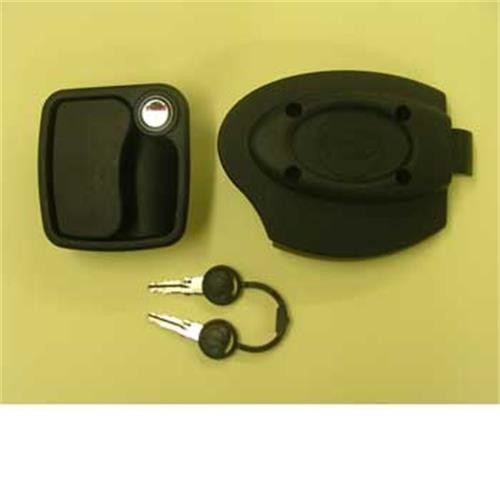 Zadi Euro Garage lock - white image 1