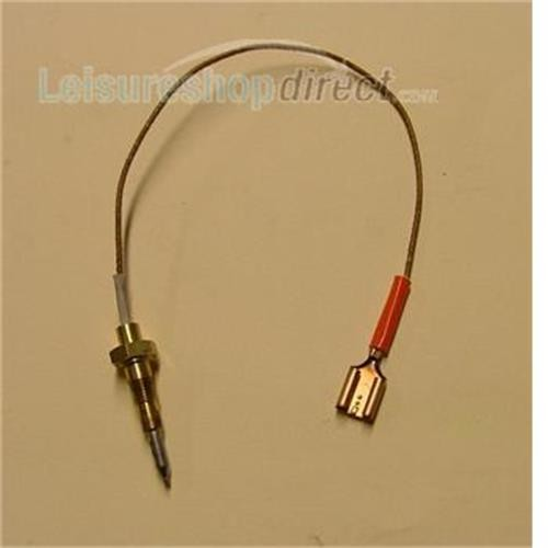 Thermocouple for Rear Hob - Spade Fitting - Spinflo Cookers image 1