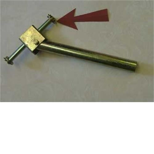 Single roller bracket image 1