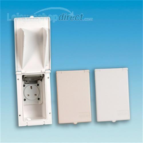 13 amp socket outlet - Beige image 1