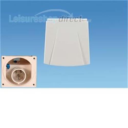 230 volt Inlet - white (new design) image 1