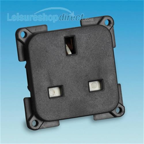 13 amp Socket - grey/black image 1