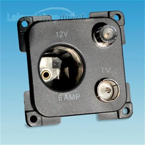 Socket TV & Satelite 12V C-Line image 1