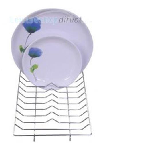 Wire Mini Dish Drainer Chrome 30cm x 20cm image 1