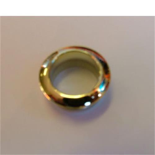 Rosette for mini push button, gold image 1