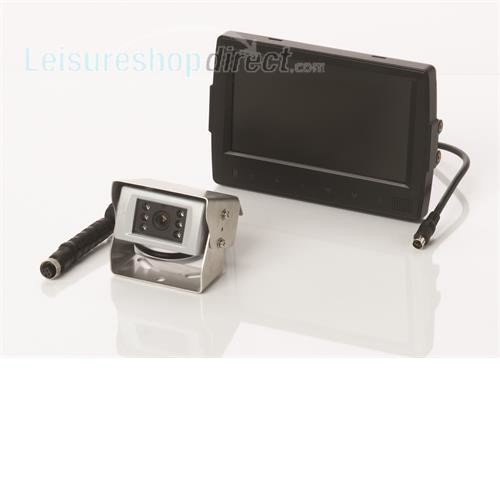 """Waeco PerfectView RVS721 7"""" LCD Videosystem with small CMOS Camera image 1"""