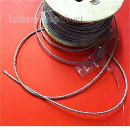 Wire rope 4mm stainless steel image 1