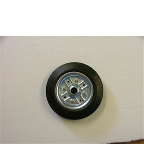 Jockey Wheel Spare wheel 200mm metal image 1
