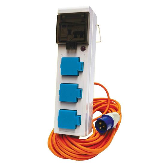 Triple Mobile Mains Unit image 1