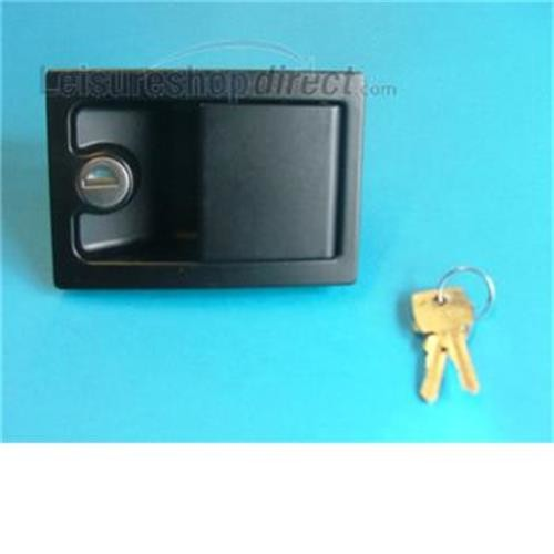 Caraloc 700 door lock black- exterior only image 1
