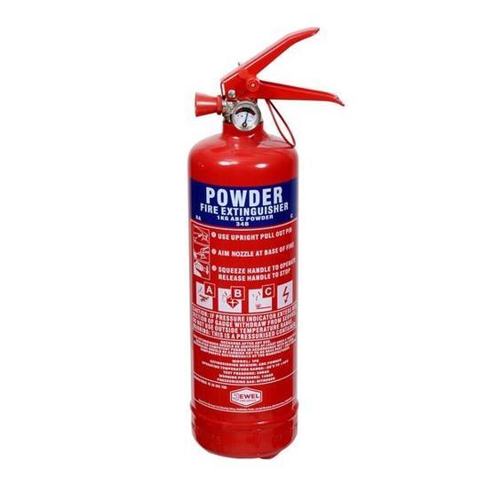 ABC Dry Powder Fire Extinguisher - 1kg image 1