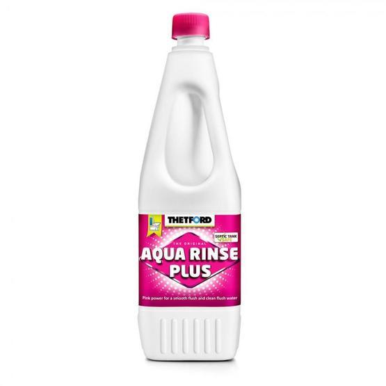 Thetford Aquarinse plus 1.5 litre Toilet Chemical Fluid image 1