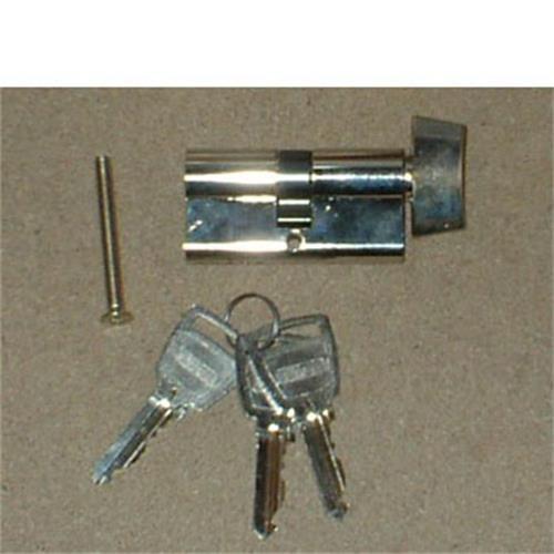 ELLBEE Eurolock 60mm for Static Caravans - cylinder only image 1