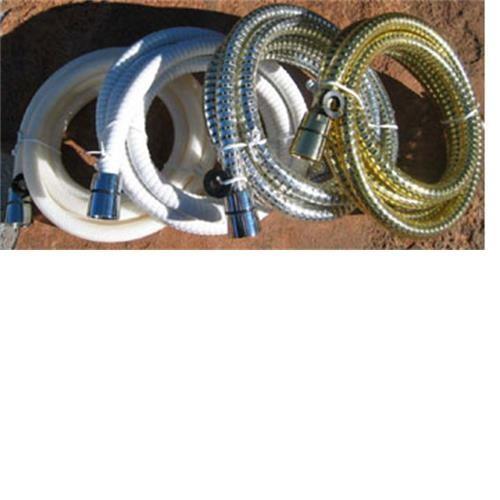 Shower hose white image 1