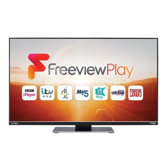 """Avtex 249DSFVP 24"""" Wi-Fi Connected HD TV with Freeview Play (12V/240V) image 2"""