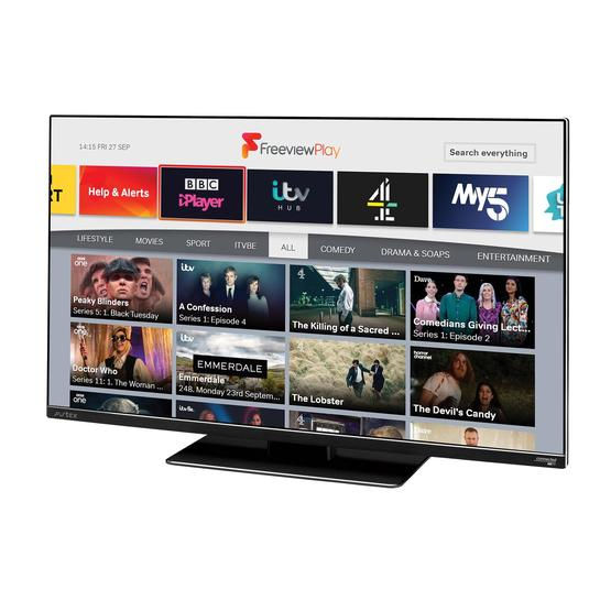 """Avtex 249DSFVP 24"""" Wi-Fi Connected HD TV with Freeview Play (12V/240V) image 1"""