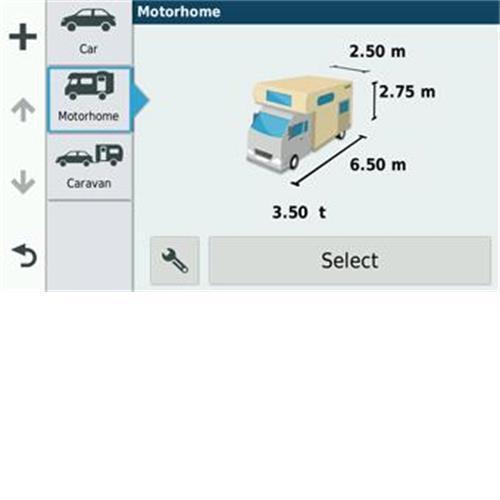 Avtex Tourer One Caravan and Motorhome Club Edition Sat Nav image 6