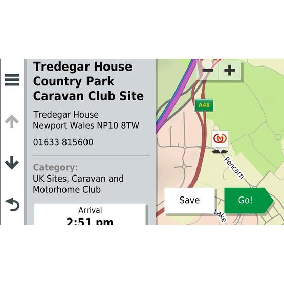 Avtex Tourer Two Sat Nav - Caravan and Motorhome Club Edition image 11