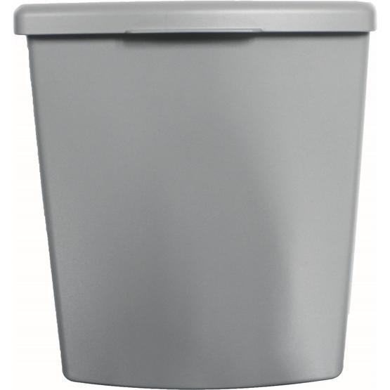 Hartal Bin Set Grey Inc body/lid/frame image 1
