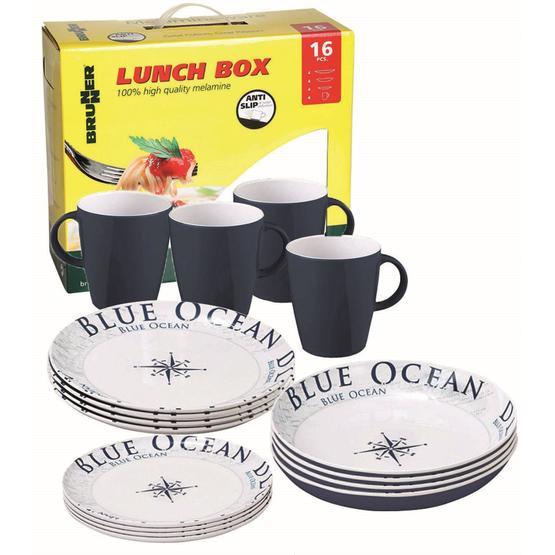 Brunner Blue Ocean Lunch box 16pcs image 1