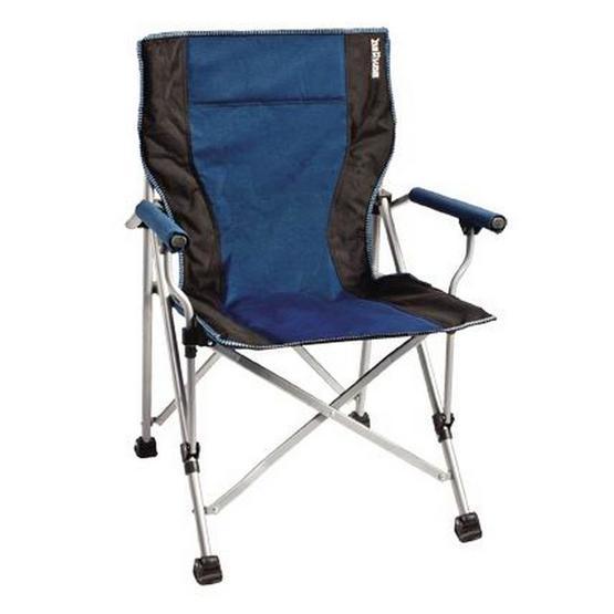 Brunner Raptor Folding Chair - Blue / Black | Chairs | Leisureshopdirect