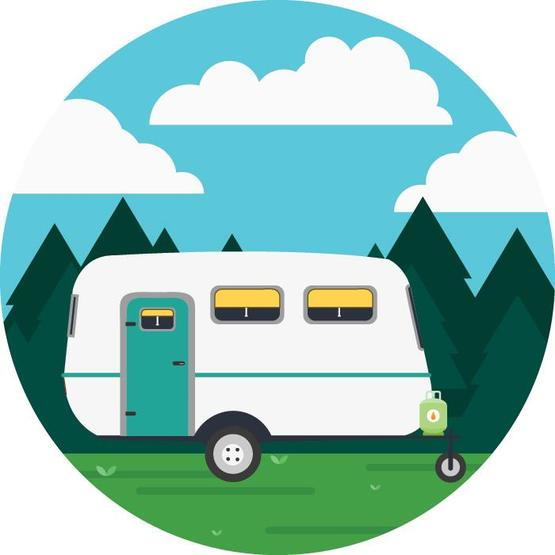 Caravan Holidays Apron image 2