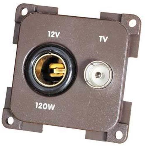 CBE 12V Euro socket+ TV Socket image 2
