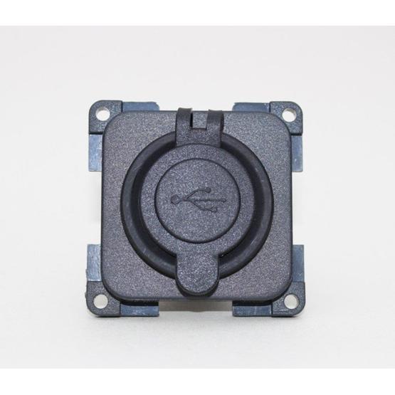 CBE 12v Twin USB Socket - Dark Grey image 2
