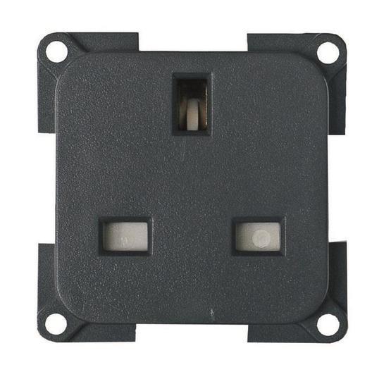 CBE 230V 3 Pin Socket - grey image 1