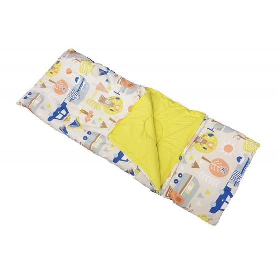 Childs Sleeping Bag & Pillow - Let's Camp image 1