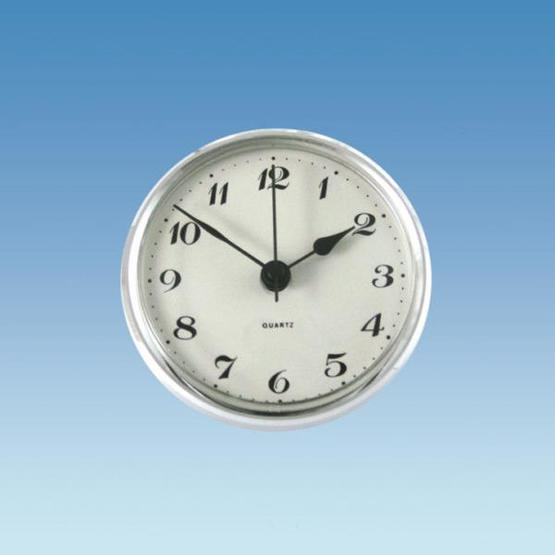 Chrome Bezel Caravan Clock image 1