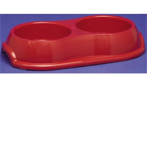 Double Pet Bowl 27cm image 1