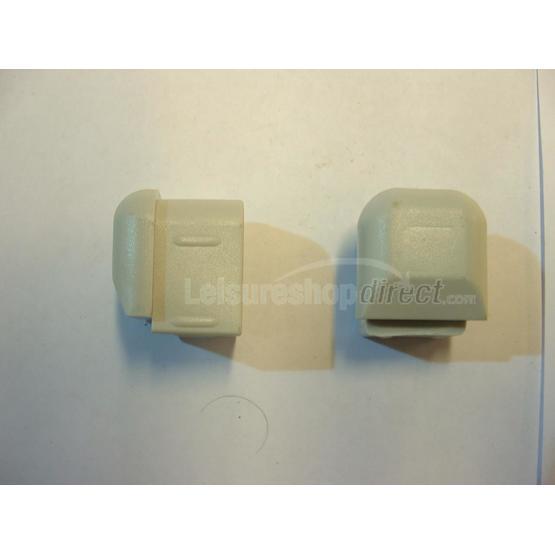 Corner pieces for omnistep Plugs (pair) image 1
