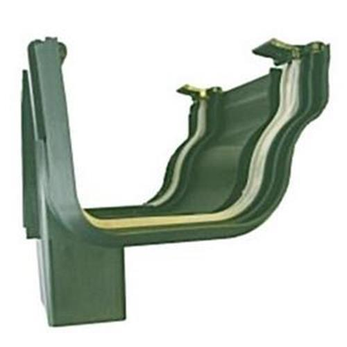 Dls holiday home downpipe connector/ hopper  in forest green image 1