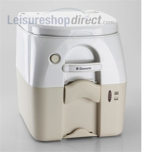 dometic 976 portable toilet white beige camping toilets leisureshopdirect. Black Bedroom Furniture Sets. Home Design Ideas