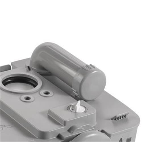 Dometic 976 Portable Toilet - White/Grey image 3